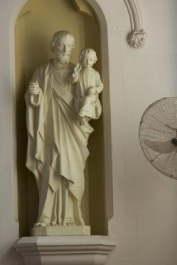 St Joseph white washed!